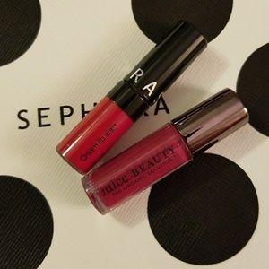 Liquid Lipstick Mini Duo Juice Beauty Sephora New